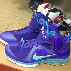 timeless design c2b9f 1c4b5 Nike Shoes - Nike Lebron 9, Summit Lake Hornets